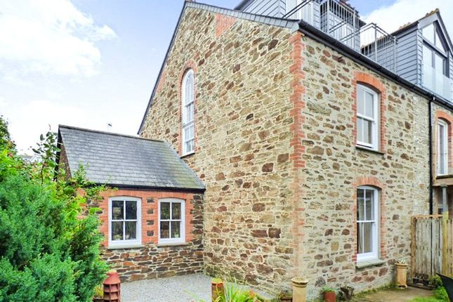 Thumbnail Semi-detached house for sale in Sunnyside, Perranporth