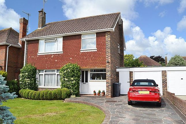 Thumbnail Detached house for sale in Falmer Close, Goring-By-Sea, Worthing