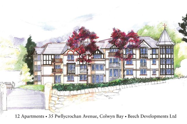 Thumbnail Flat for sale in The Sycamores, 35 Pwllychrochan Avenue, Colwyn Bay