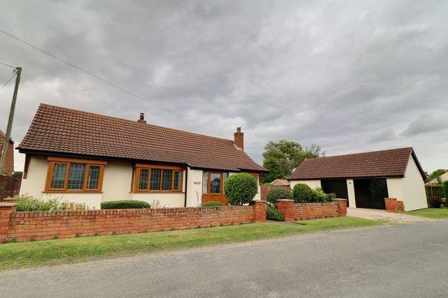 Thumbnail Detached bungalow for sale in Scotterthorpe, Gainsborough