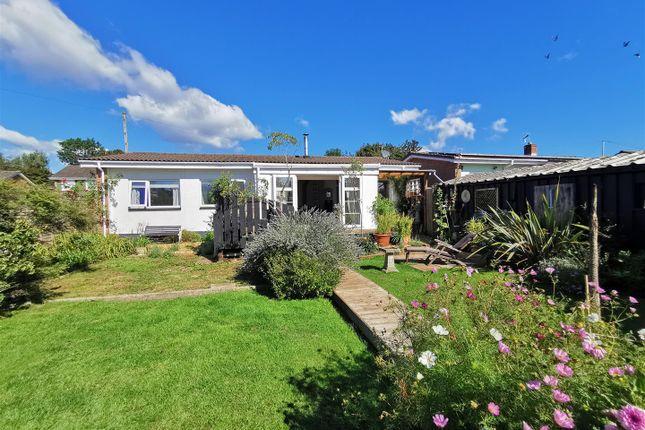 Thumbnail Detached bungalow for sale in Castle View, Tutshill, Chepstow