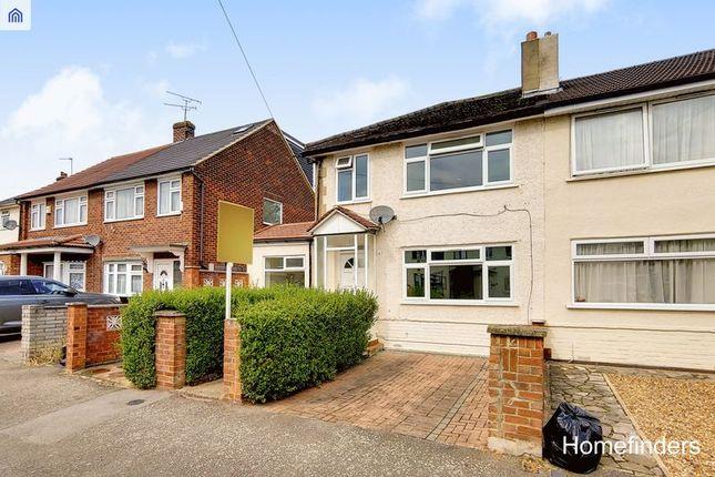 Thumbnail Semi-detached house to rent in St Andrews Avenue, Elm Park