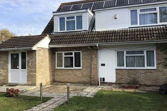 Thumbnail End terrace house to rent in Kingfisher Drive, Woodley, Reading