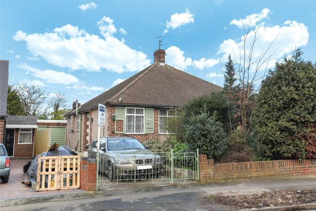 Thumbnail Semi-detached bungalow for sale in Harford Road, London