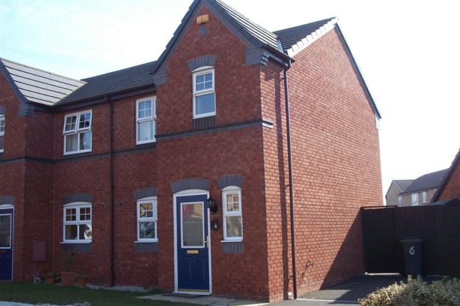 Thumbnail Semi-detached house to rent in Tom Williams Way, Tamworth