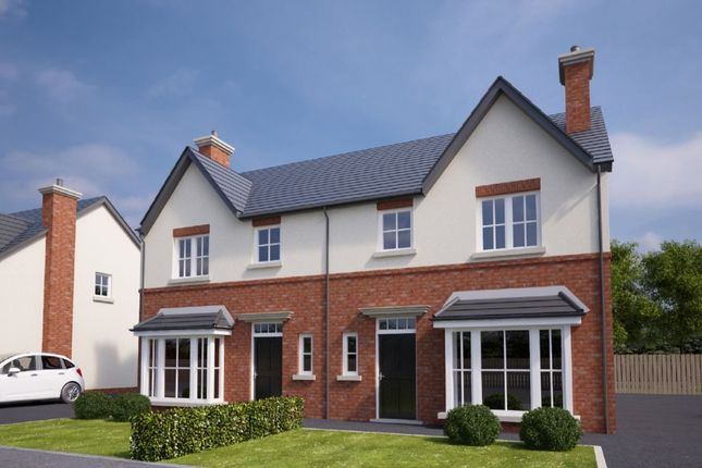 Thumbnail Semi-detached house for sale in Coopers Mill, Upper Newtownards Road, Dundonald