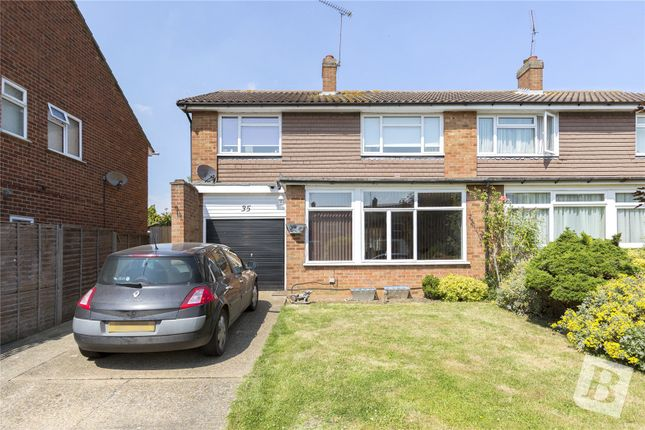 Thumbnail Semi-detached house for sale in Longacre, Chelmsford, Essex