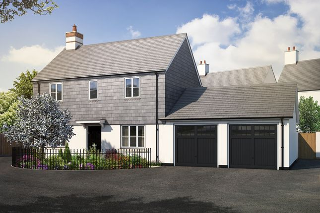 "Thumbnail Link-detached house for sale in ""The Farringdon"" at Haye Road, Sherford, Plymouth"