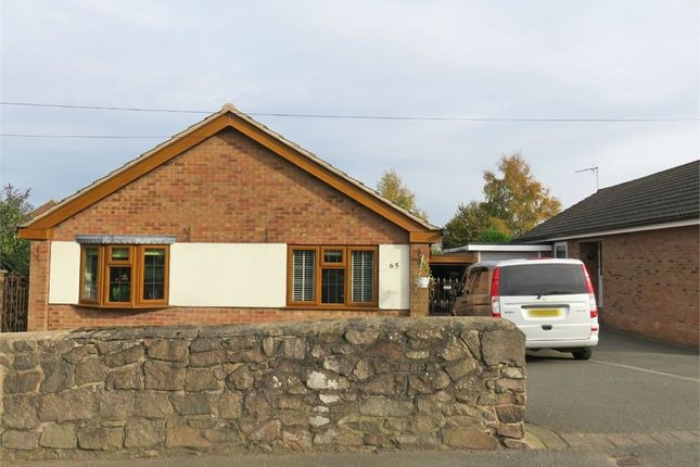 Thumbnail Detached bungalow for sale in Long Street, Stoney Stanton, Leicester
