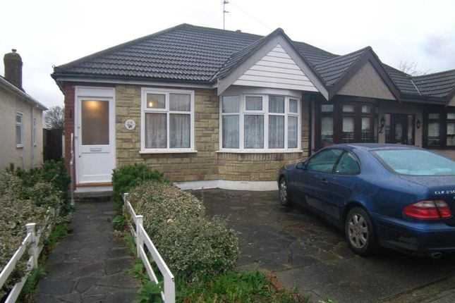 Thumbnail Semi-detached bungalow to rent in Central Drive, Hornchurch