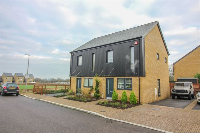 Thumbnail Semi-detached house for sale in Redwing Way, Newhall, Harlow, Essex