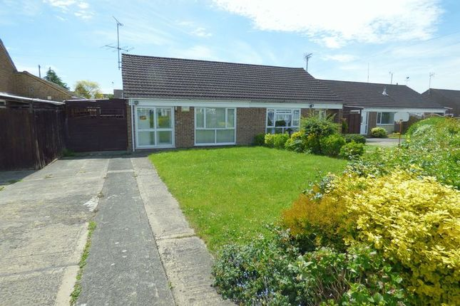 Thumbnail Semi-detached bungalow for sale in Courtfield Road, Quedgeley, Gloucester