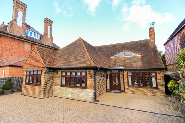 Thumbnail Detached bungalow for sale in Woodside Road, Woodford Green, Essex