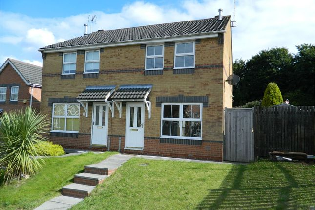 Thumbnail Semi-detached house to rent in The Courtyard, Pontefract