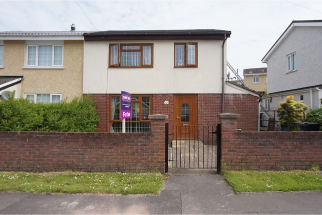 Thumbnail Semi-detached house for sale in Aneurin Crecsant, Merthyr Tydfil