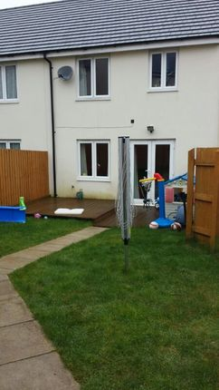 Thumbnail Terraced house to rent in Fleetwood Gardens, Warleigh Village, Plymouth