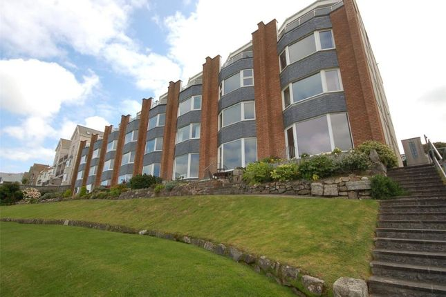 Thumbnail Flat for sale in Gwel Marten, Headland Road, St. Ives, Cornwall