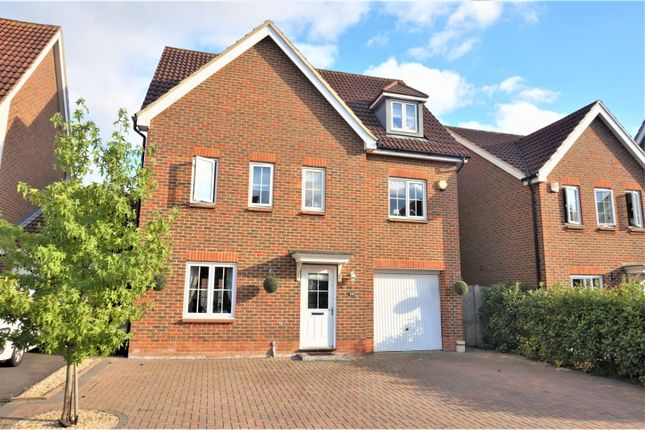 Thumbnail Detached house to rent in Jersey Drive, Wokingham