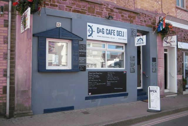 Thumbnail Restaurant/cafe for sale in 32 Nelson Road, Westward Ho, Devon