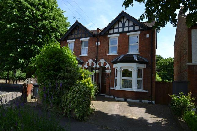 Thumbnail Semi-detached house for sale in Gordon Avenue, Highams Park