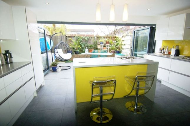 Thumbnail Town house for sale in Tufton Gardens, West Molesey