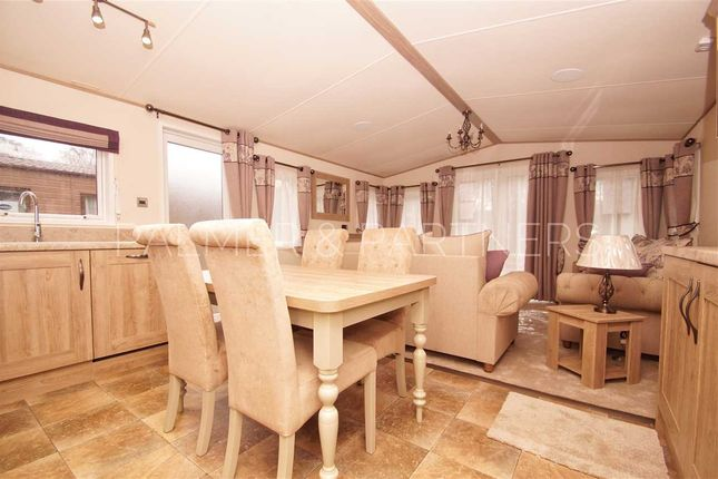 Thumbnail Detached house for sale in Beaumont Lodge, Colchester Holiday Park, Cymbeline Way, Colchester