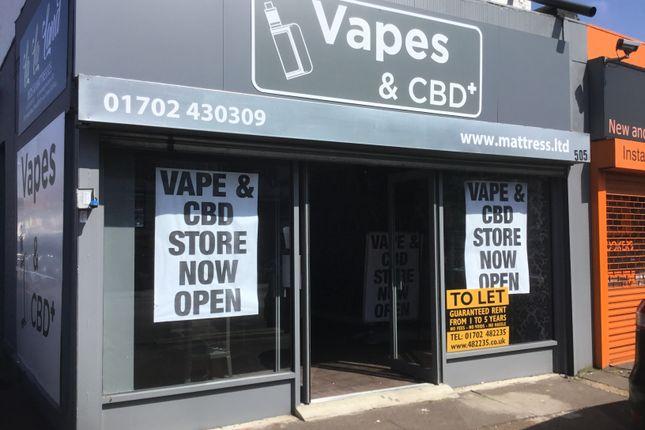 Retail premises to let in London Road, Westcliff On Sea, Essex