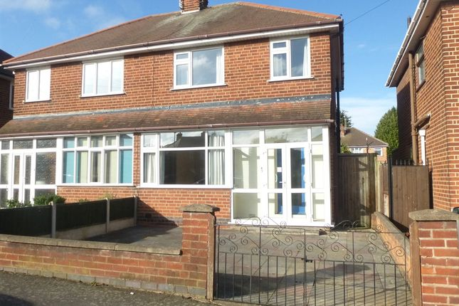 Thumbnail Semi-detached house for sale in Bembridge Road, Off Anstey Lane, Leicester