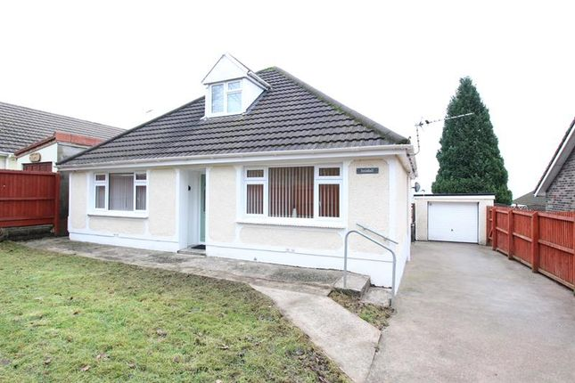 Thumbnail Detached bungalow for sale in Court Road, Caerphilly