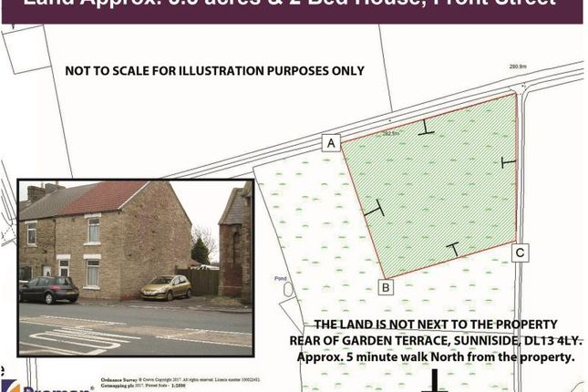Thumbnail Land for sale in Garden Terrace, Sunniside, Bishop Auckland