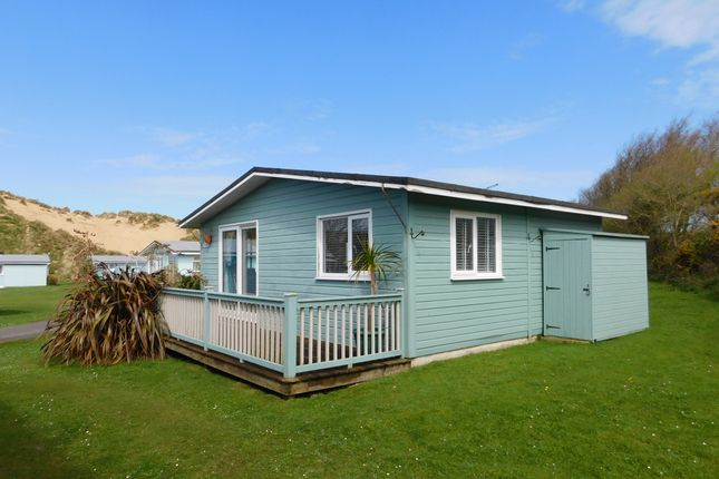 Thumbnail Mobile/park home for sale in Gwithian Sands Holiday Park, Gwithian, Hayle
