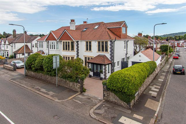 Thumbnail Semi-detached house for sale in Pencisely Road, Cardiff