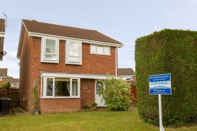 3 bed detached house for sale in Whitmore Close, Broseley TF12