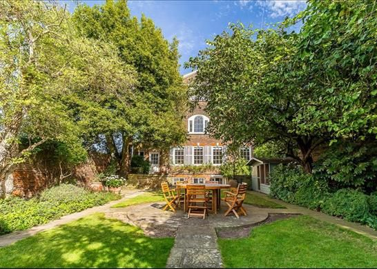 Garden of Hampton Court Road, East Molesey, Surrey KT8
