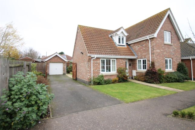 Thumbnail Detached house for sale in Walnut Tree Avenue, Martham, Great Yarmouth