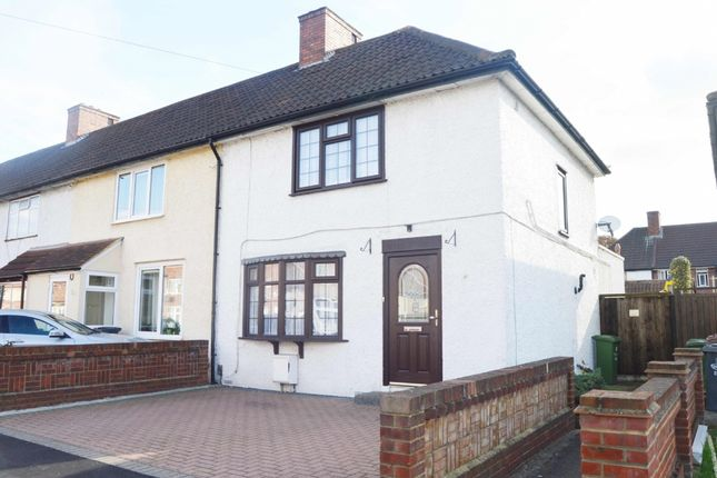 Thumbnail End terrace house for sale in Lillechurch Road, Becontree, Dagenham