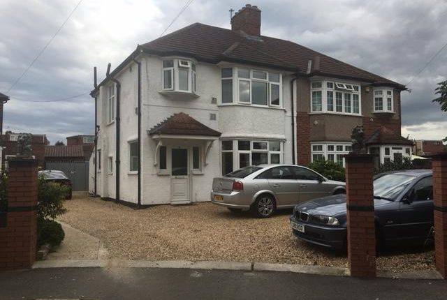 Thumbnail Semi-detached house to rent in Shelly Crescent, Hounslow