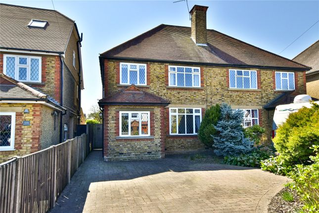 3 bed semi-detached house for sale in Baldwins Lane, Croxley Green, Hertfordshire WD3