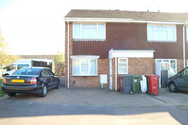 Thumbnail End terrace house to rent in Severn Crescent, Langley