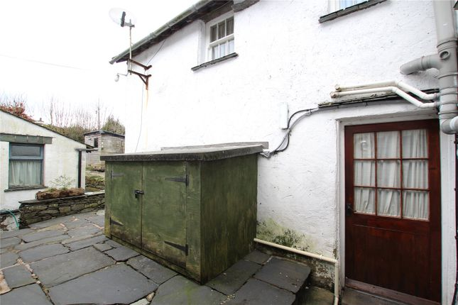Shared Patio of Ann Tysons House, Wordsworth Street, Hawkshead, Ambleside, Cumbria LA22