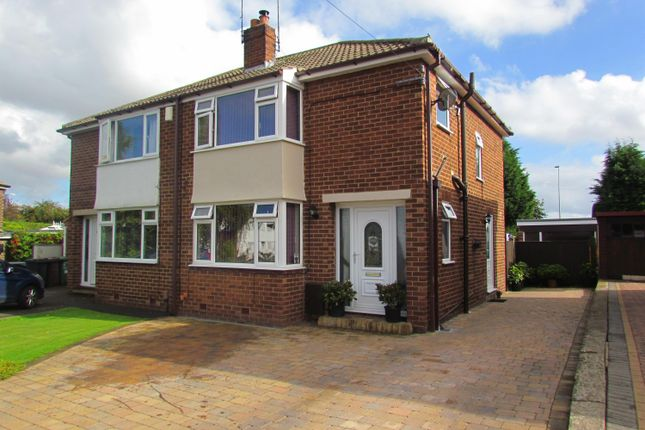 Thumbnail Semi-detached house for sale in Meyrick Avenue, Wetherby