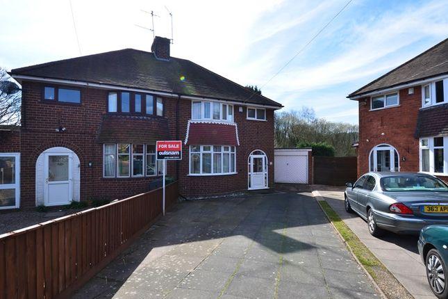 Thumbnail Semi-detached house for sale in The Grove, Cofton Hackett, Birmingham