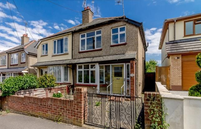 Thumbnail Semi-detached house for sale in Benfleet, Essex