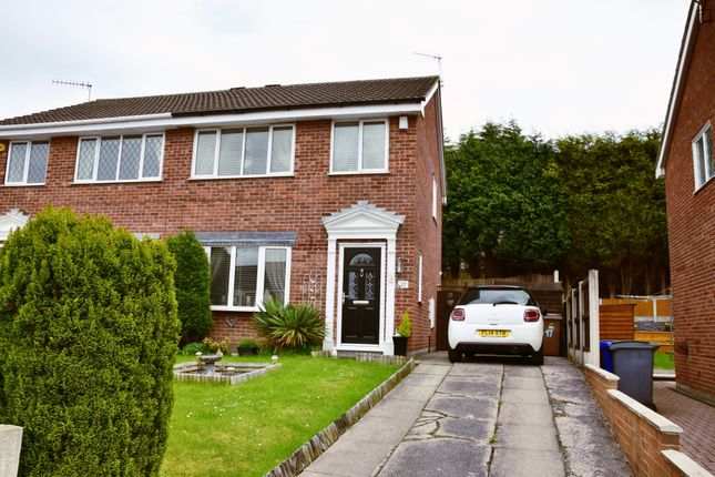 Thumbnail Semi-detached house for sale in Webster Avenue, Parkhall, Stoke-On-Trent