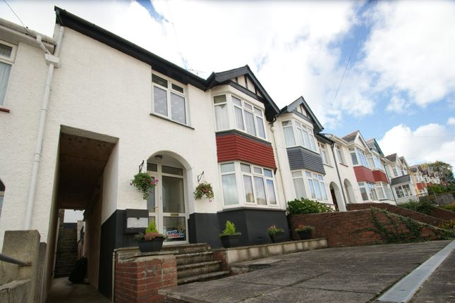 Thumbnail Terraced house for sale in Clifton Grove, Paignton