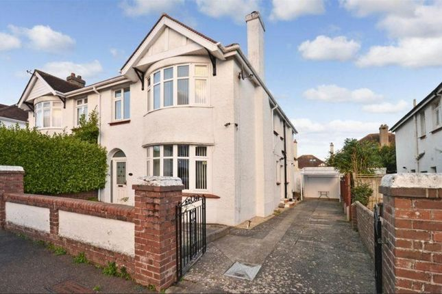 Thumbnail Semi-detached house for sale in Wilbarn Road, Paignton