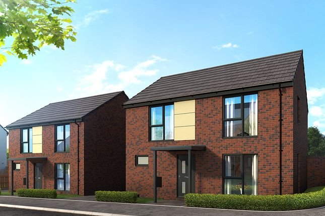 "Thumbnail Property for sale in ""The Wells"" at Campsall Road, Askern, Doncaster"
