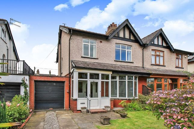 Thumbnail Semi-detached house for sale in Highfield Avenue, Burnley, Lancashire