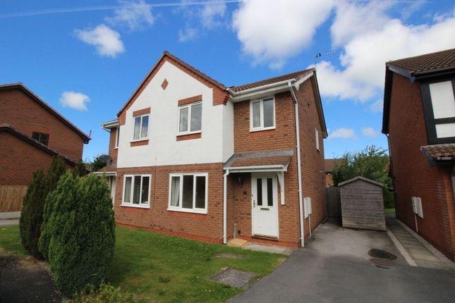 Thumbnail Semi-detached house to rent in Llwyn Harlech, Bodelwyddan, Rhyl