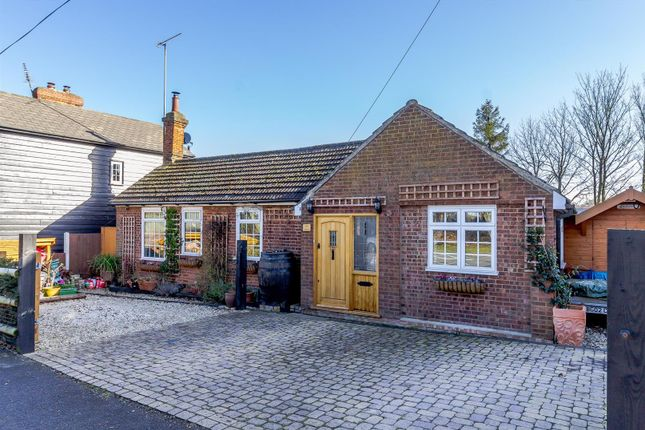 Thumbnail Detached bungalow for sale in Roman Road, Mountnessing, Brentwood